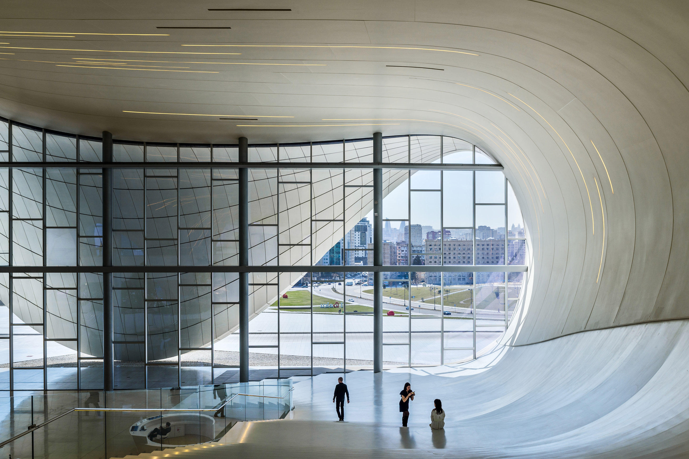 Heydar Aliyev Center Arch Photography